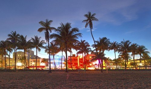 Trip Ideas sky outdoor palm Beach tree arecales walkway Resort evening plant dusk boardwalk Sunset night shore sandy