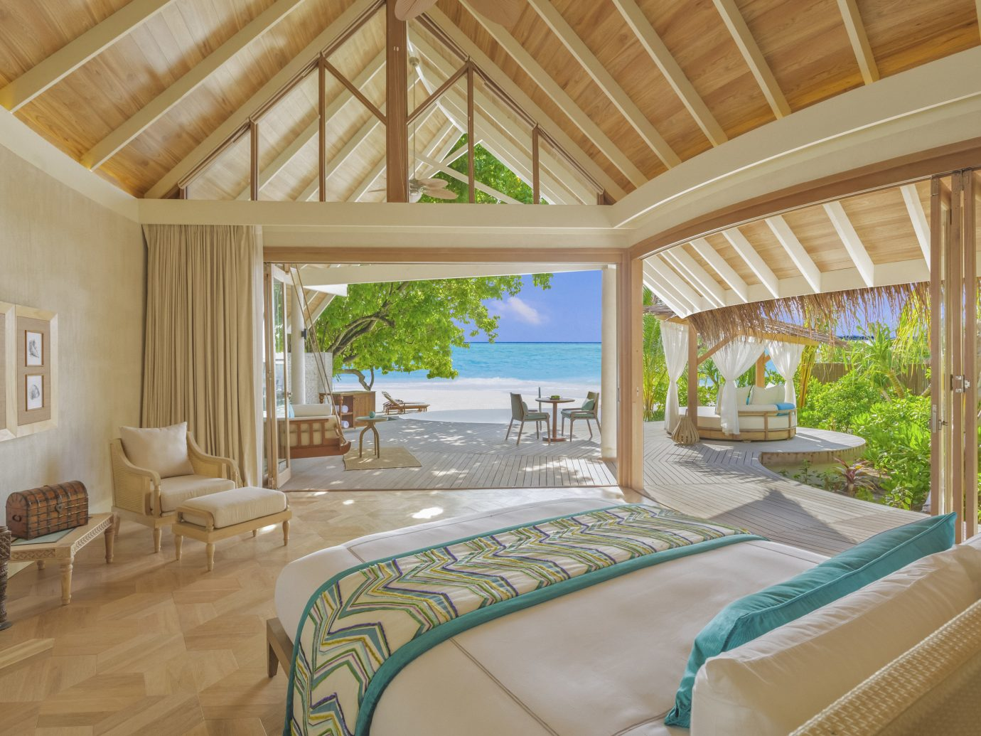 Bedroom at Milaidhoo Island Maldives
