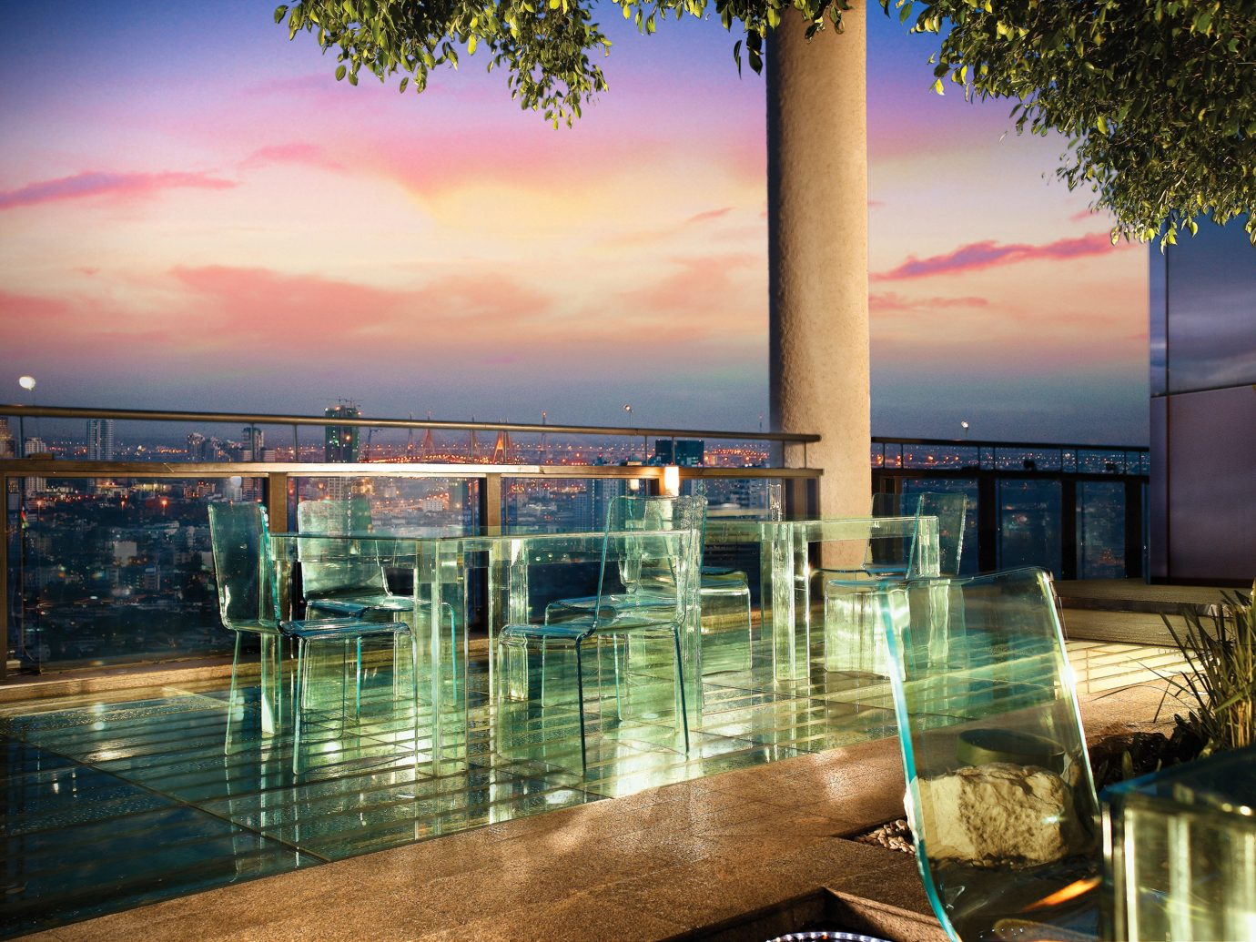 Deck Hotels Living Lounge Scenic views Sunset outdoor reflection vacation evening estate dusk shore
