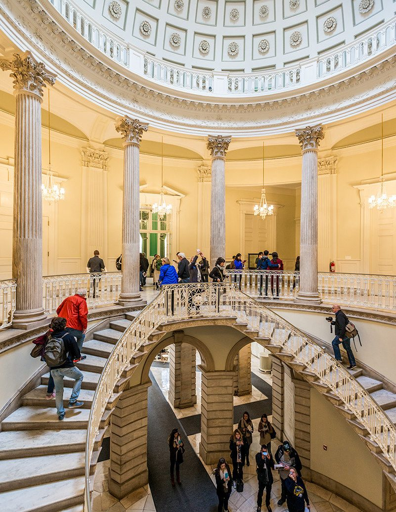 Arts + Culture Fall Travel Festivals + Events tourist attraction interior design building Lobby museum daylighting walkway colonnade