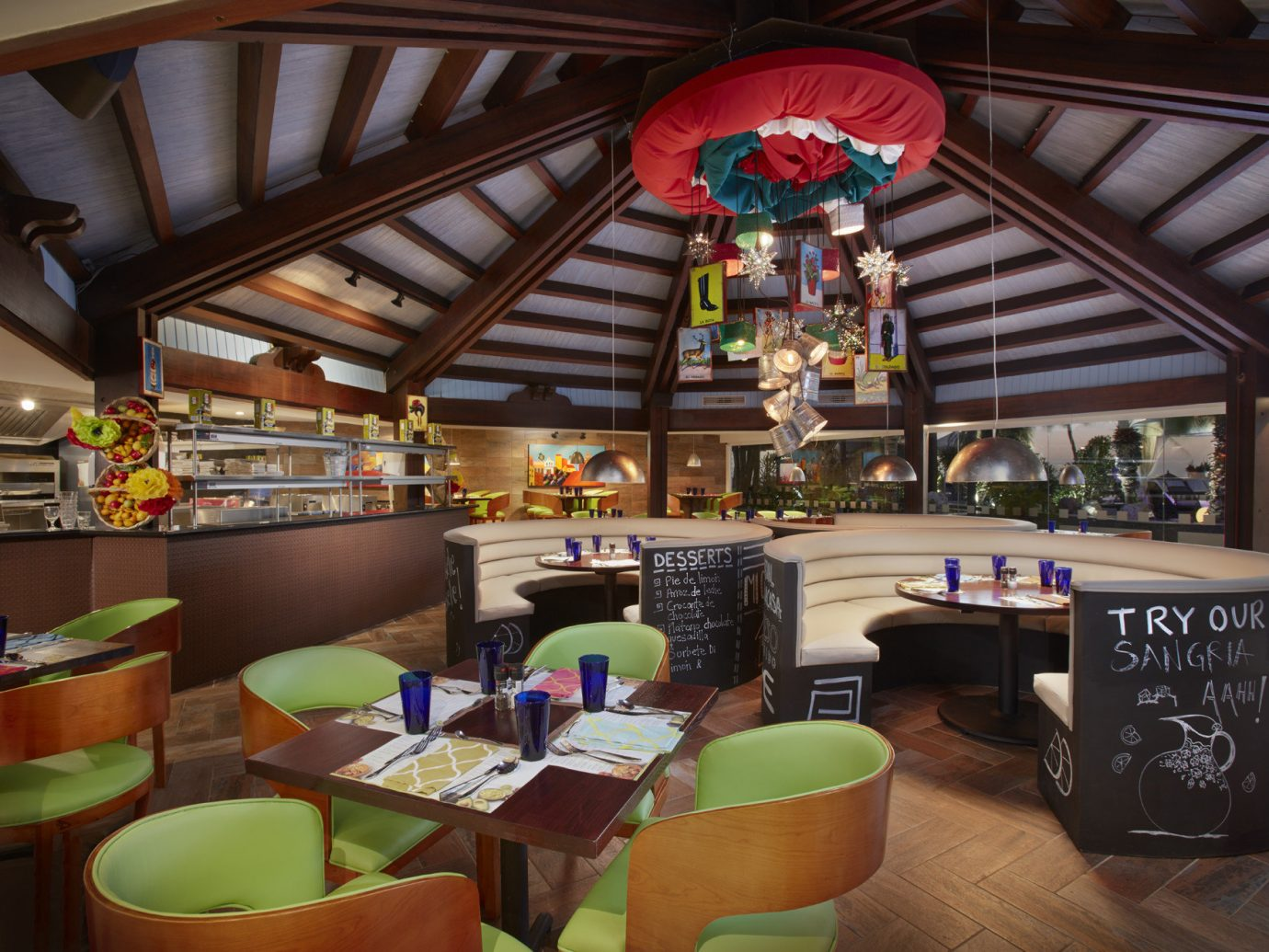Hotels Romance indoor ceiling interior design restaurant meal