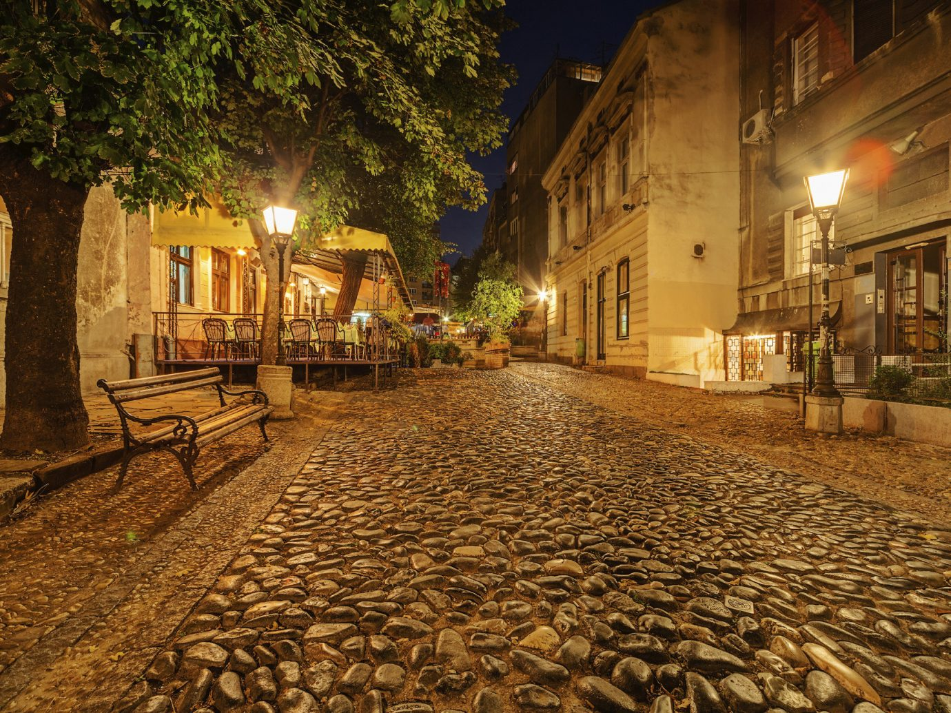 Trip Ideas outdoor ground road Town street neighbourhood night urban area human settlement alley evening Village way infrastructure ancient history sidewalk autumn several stone crowd