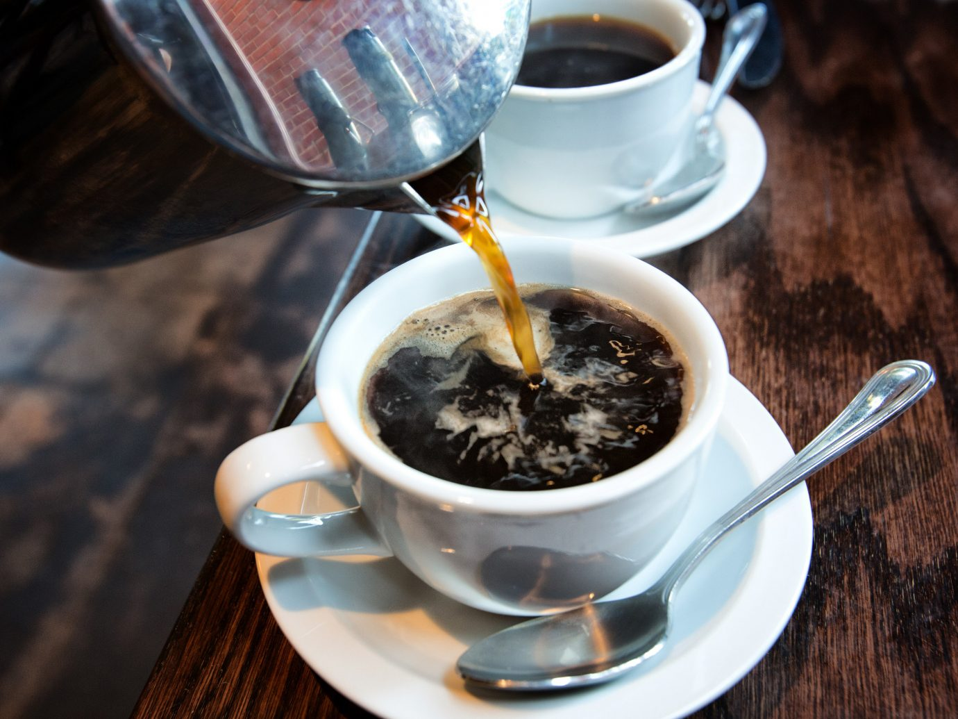 Food + Drink cup coffee table Drink beverage food caffeine espresso coffee cup turkish coffee flavor tea caffè americano breakfast