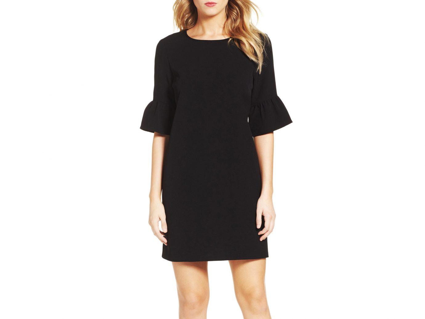 Travel Shop Travel Tips clothing day dress dress little black dress shoulder sleeve fashion model neck waist cocktail dress