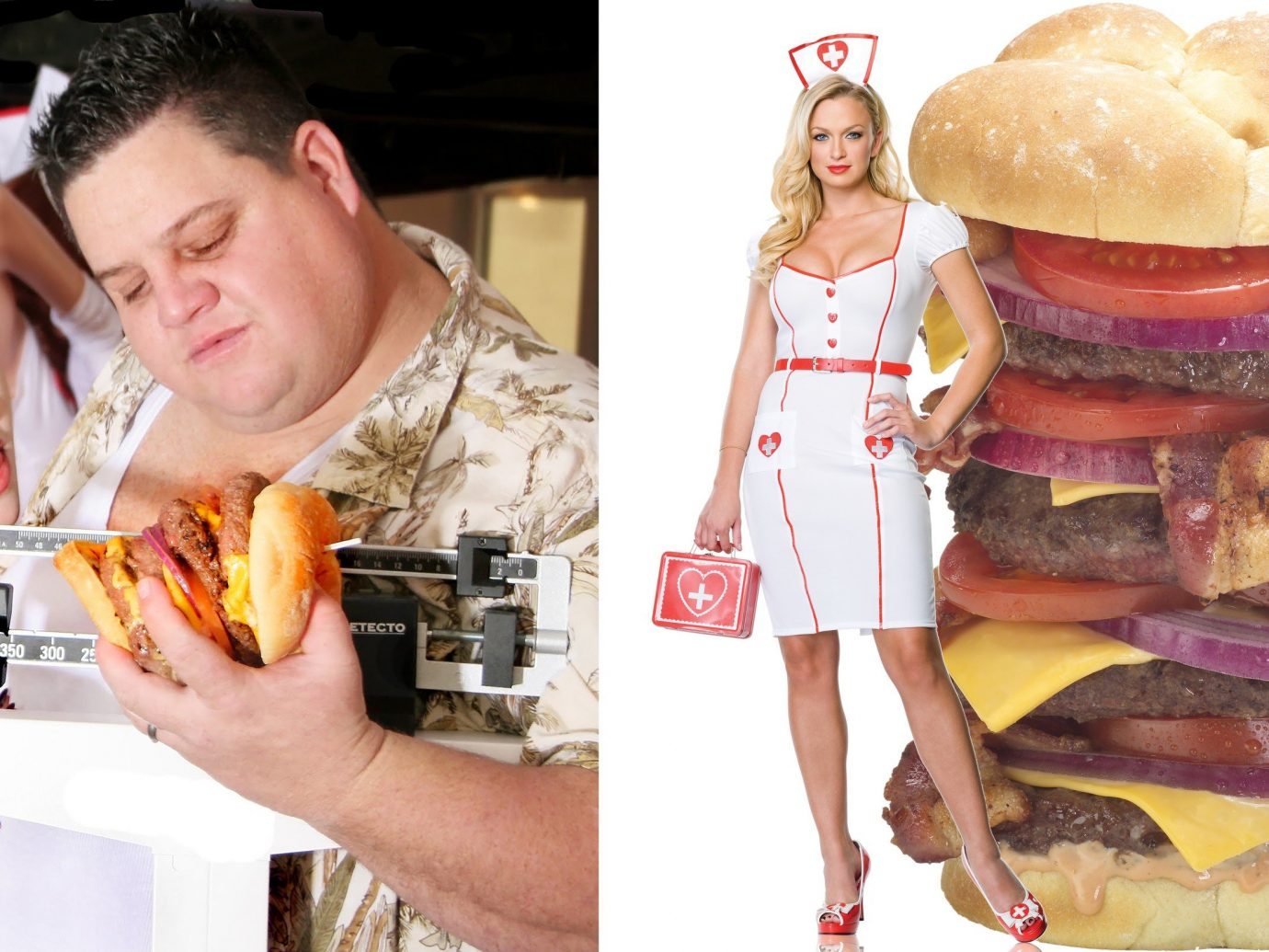 Offbeat person food human action snack food sandwich fast food meal eating sense junk food lunch meat
