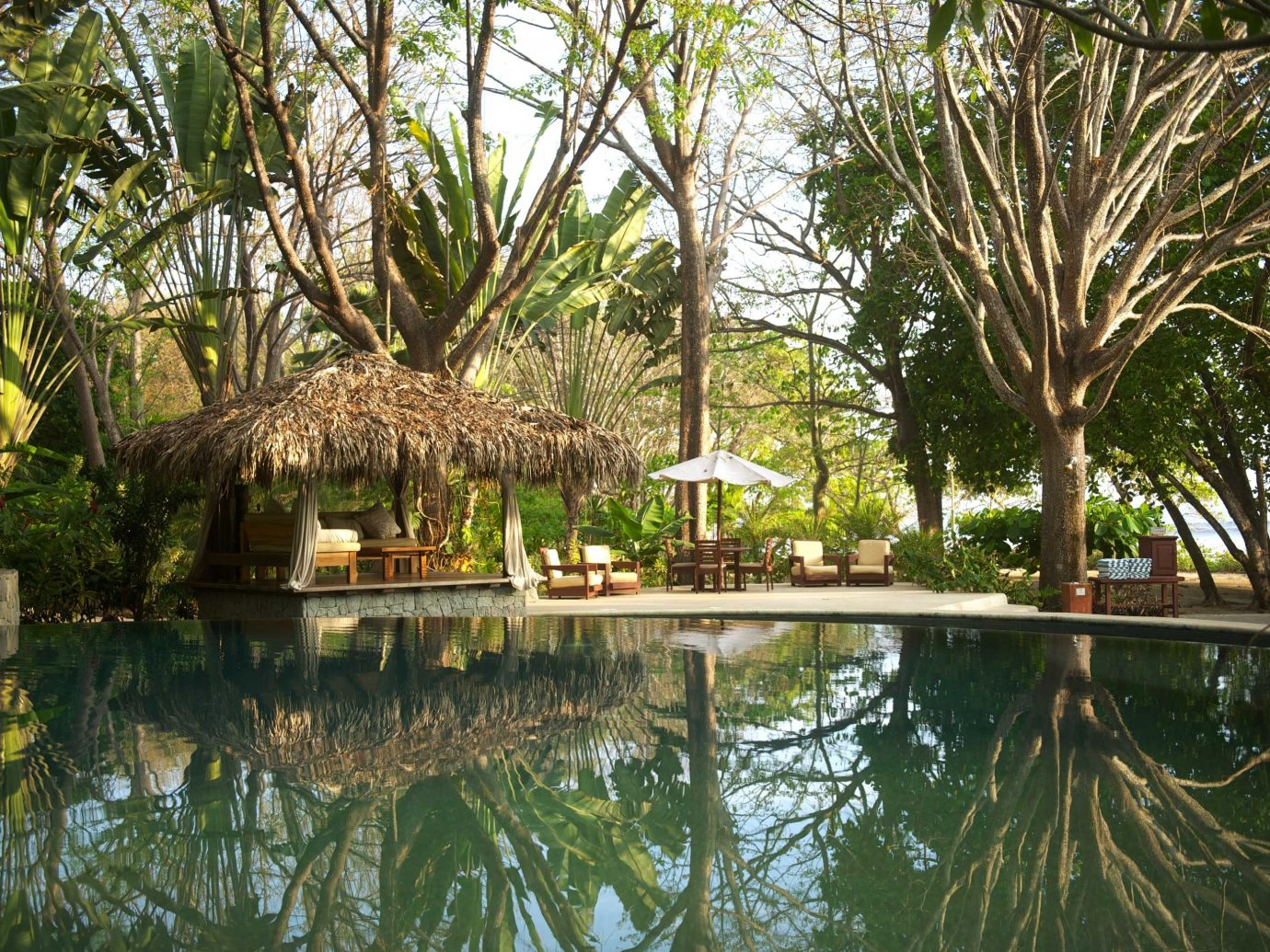 Swimming Pool At Florblanca In Costa Rica