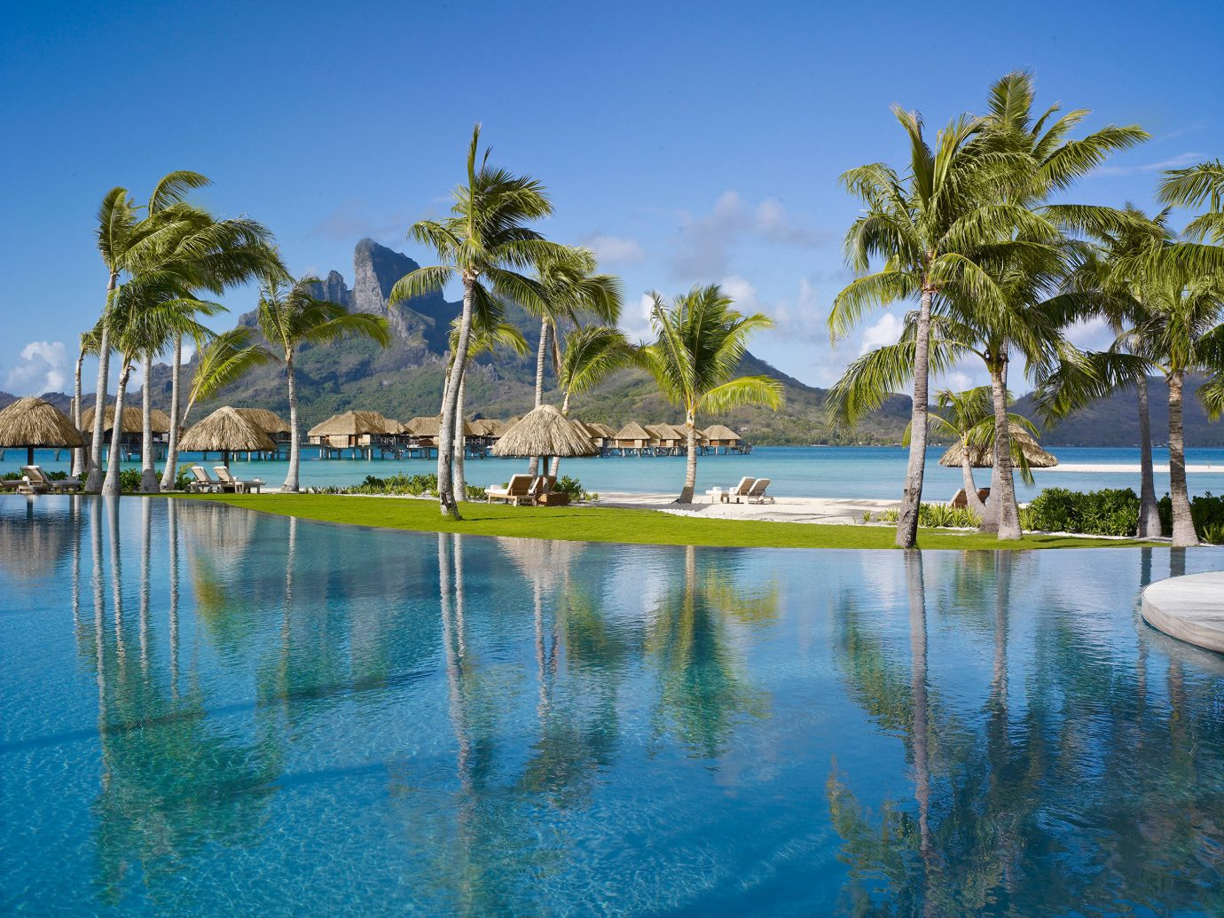 All-Inclusive Resorts Boutique Hotels Grounds Hotels Island Islands Luxury Pool Romance Scenic views Trip Ideas Tropical water tree outdoor Nature palm Beach Lake Resort swimming pool Sea vacation marina Ocean caribbean arecales Lagoon estate tropics dock bay pond palm family shore lined surrounded swimming