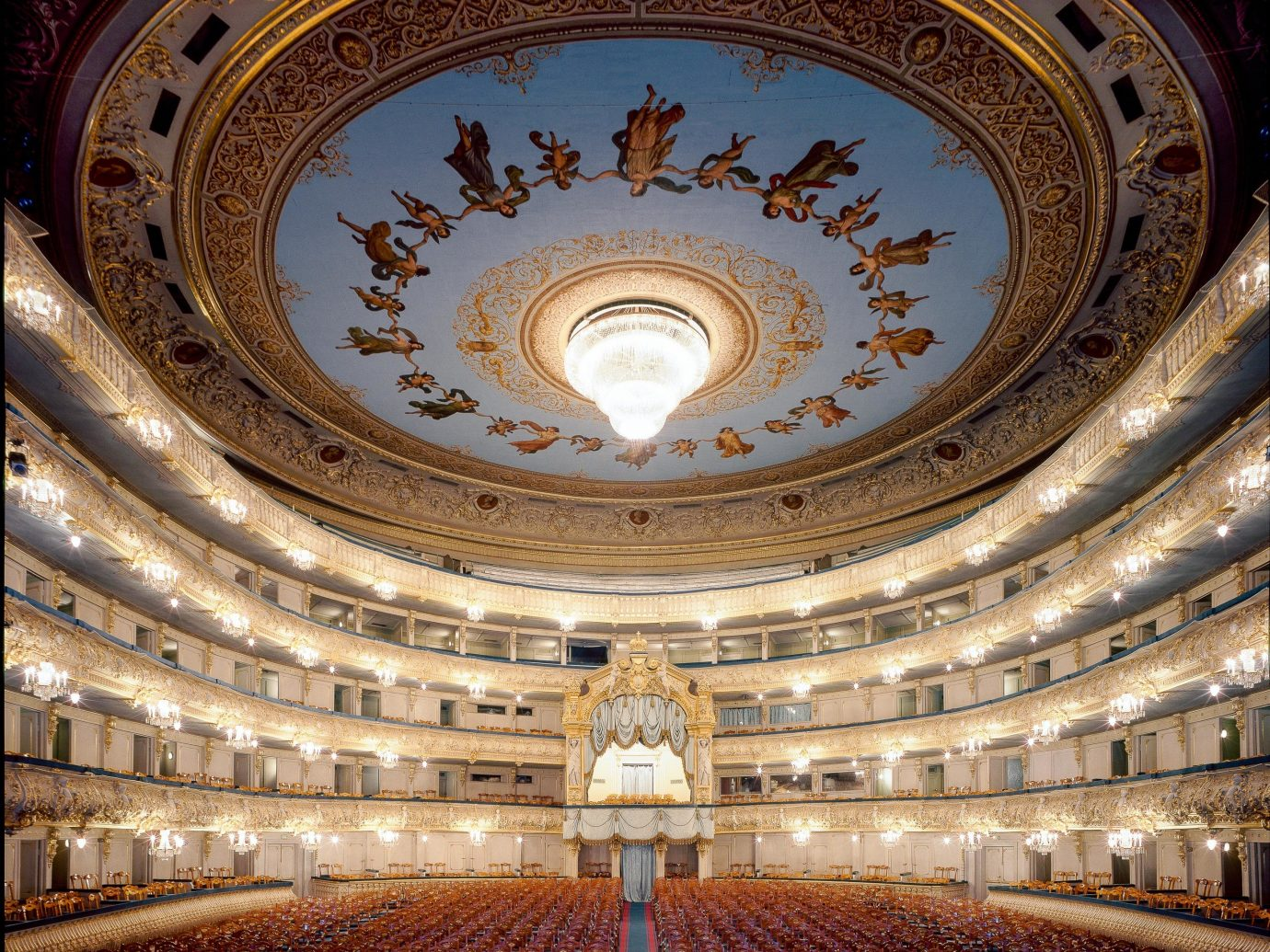 Arts + Culture Hotels Jetsetter Guides indoor landmark building theatre ceiling opera house tourist attraction symmetry dome historic site daylighting basilica performing arts center
