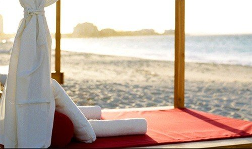 Hotels water leisure human positions physical fitness sitting yoga overlooking