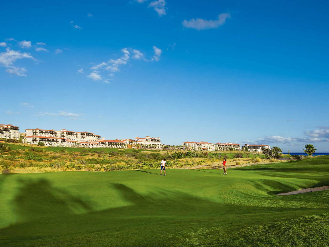 Golf course at Secrets Puerto Los Cabos Golf & Spa Resort