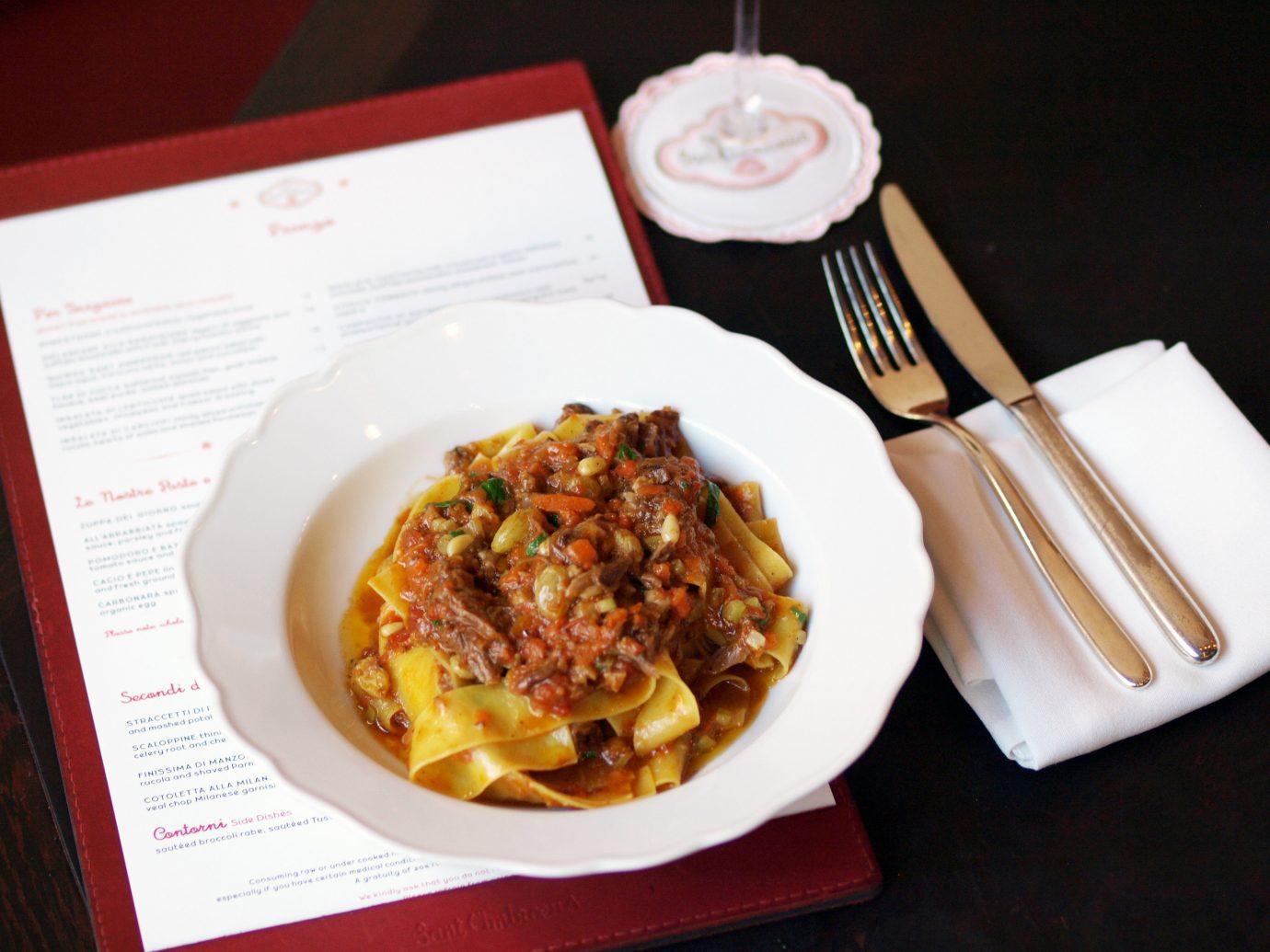 Romance Trip Ideas plate food table dish indoor cuisine italian food spaghetti meal breakfast european food produce meat pasta