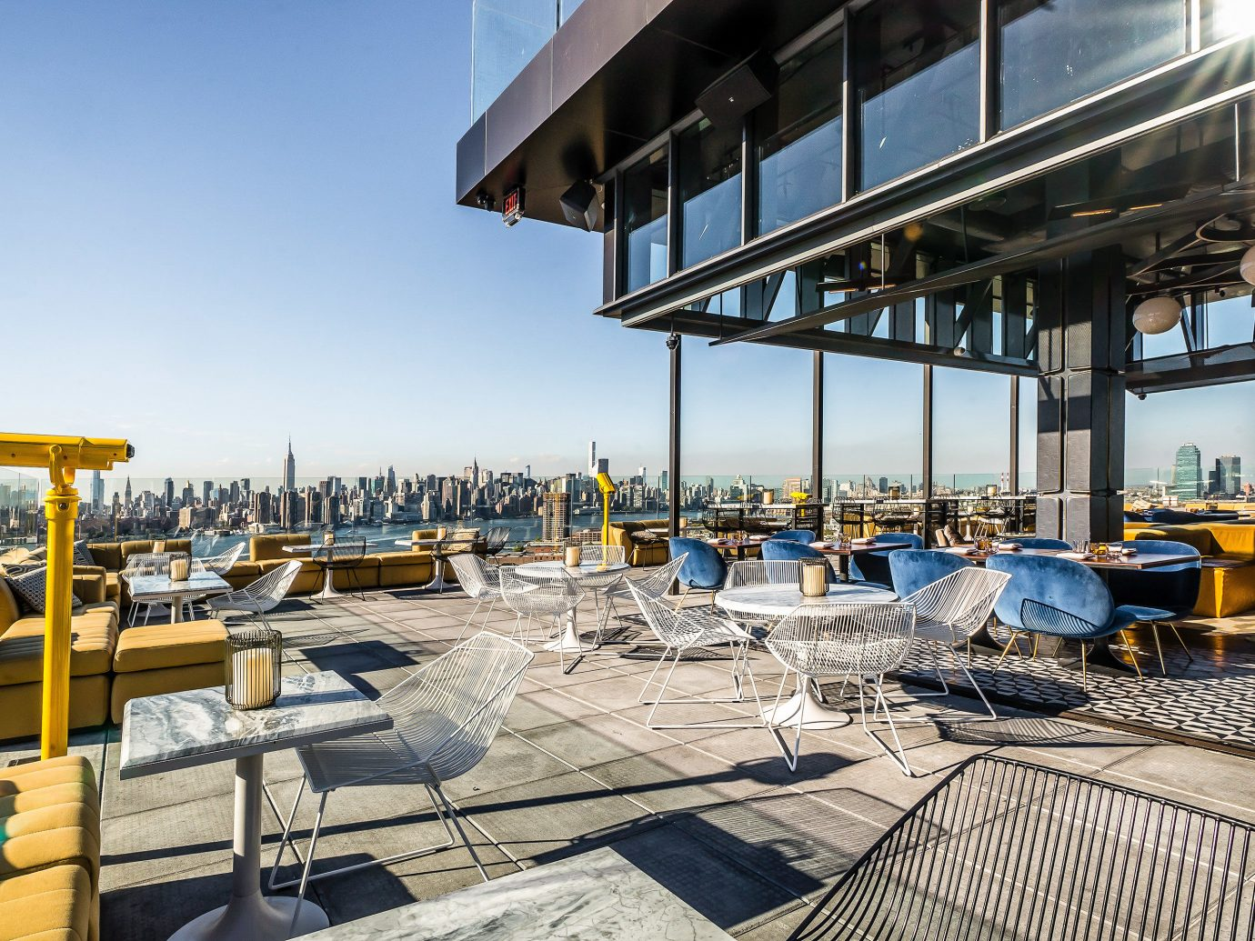 Boutique Hotels Food + Drink Hotels sky outdoor chair real estate apartment water condominium roof outdoor structure penthouse apartment building dock