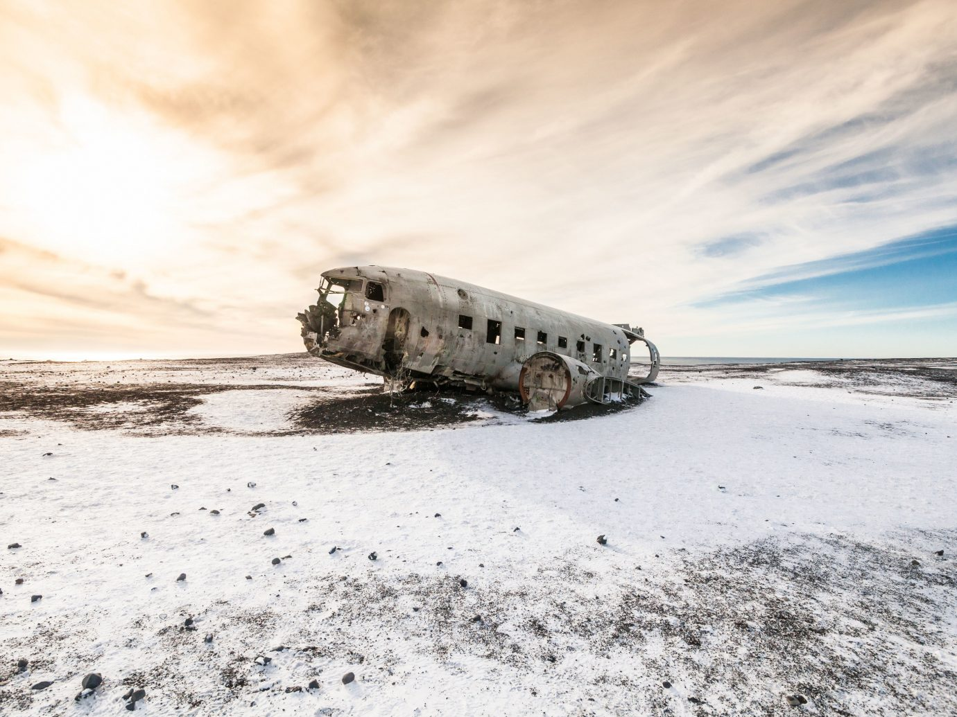 Iceland Outdoors + Adventure Road Trips sky cloud snow water Sea landscape sand ice freezing tundra ecoregion vehicle Winter arctic