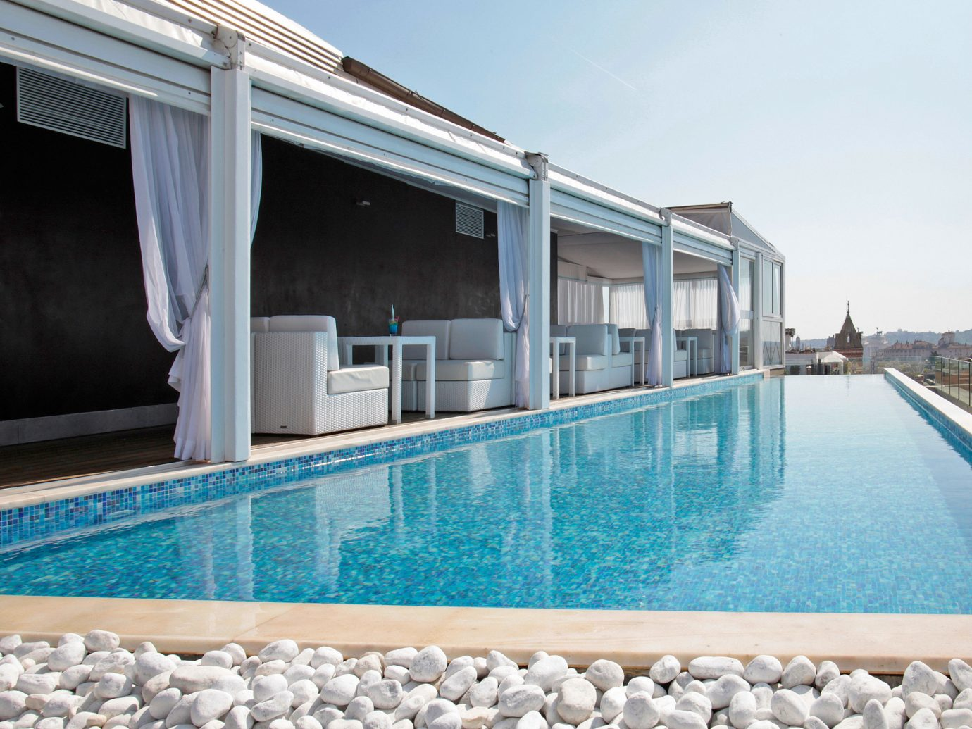 Boutique Hotels City Elegant Italy Luxury Luxury Travel Pool Romantic Hotels Rome Rooftop sky outdoor swimming pool property leisure blue estate Villa Resort home real estate condominium
