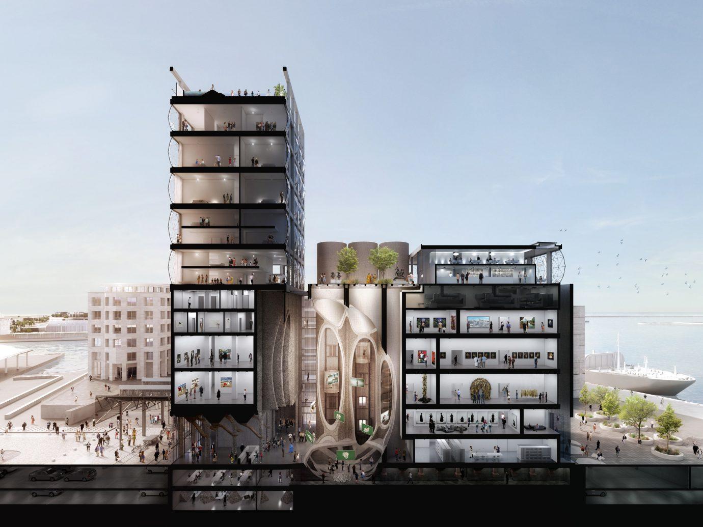 Hotels sky tower block condominium outdoor property residential area Architecture facade screenshot skyscraper