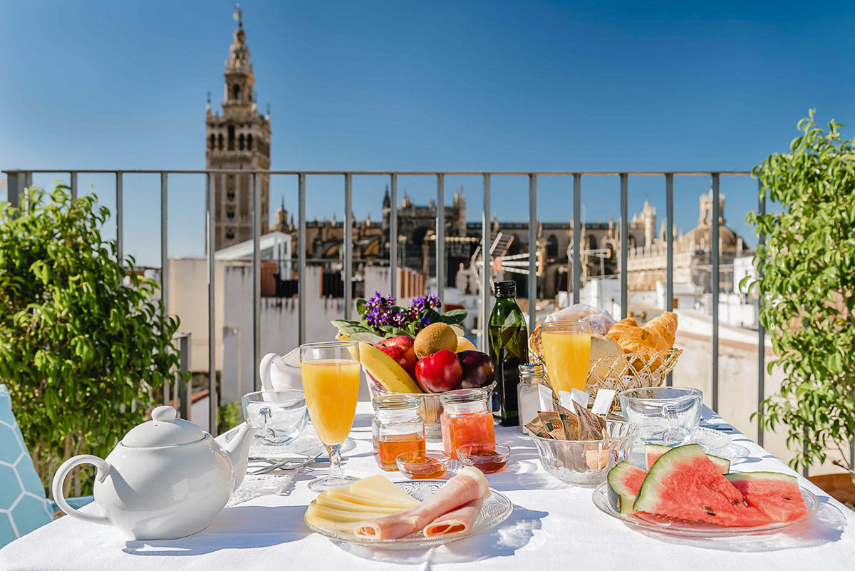Trip Ideas table food outdoor brunch meal restaurant vacation breakfast Resort Balcony dining table
