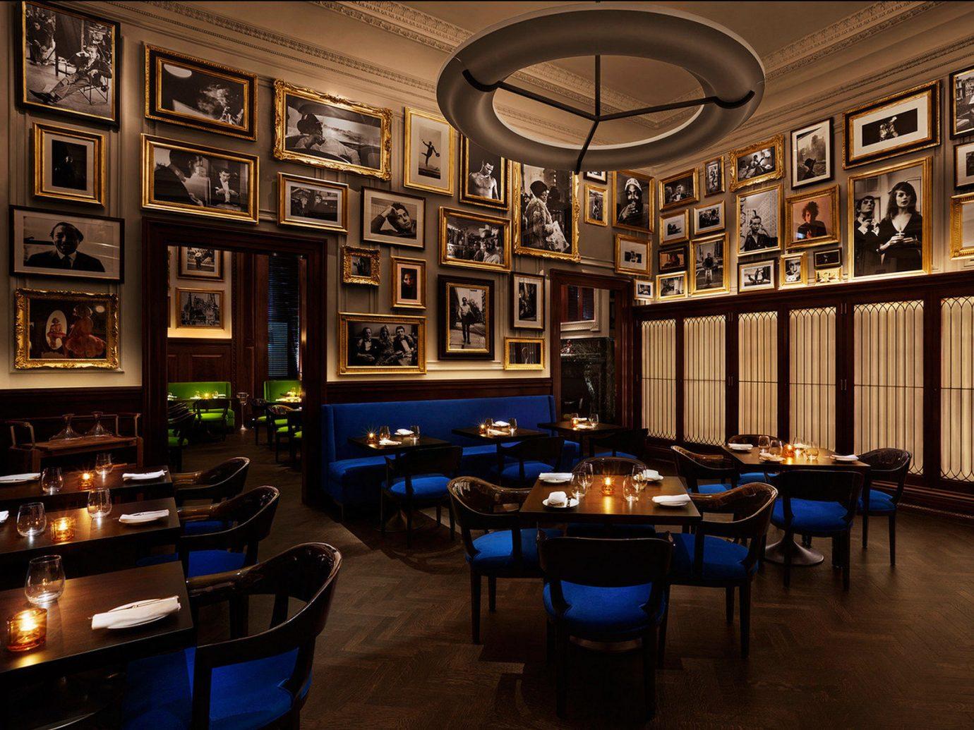 The New York EDITION, Bar Dining Drink Eat Hotels NYC indoor room building recreation room estate interior design home Design restaurant several