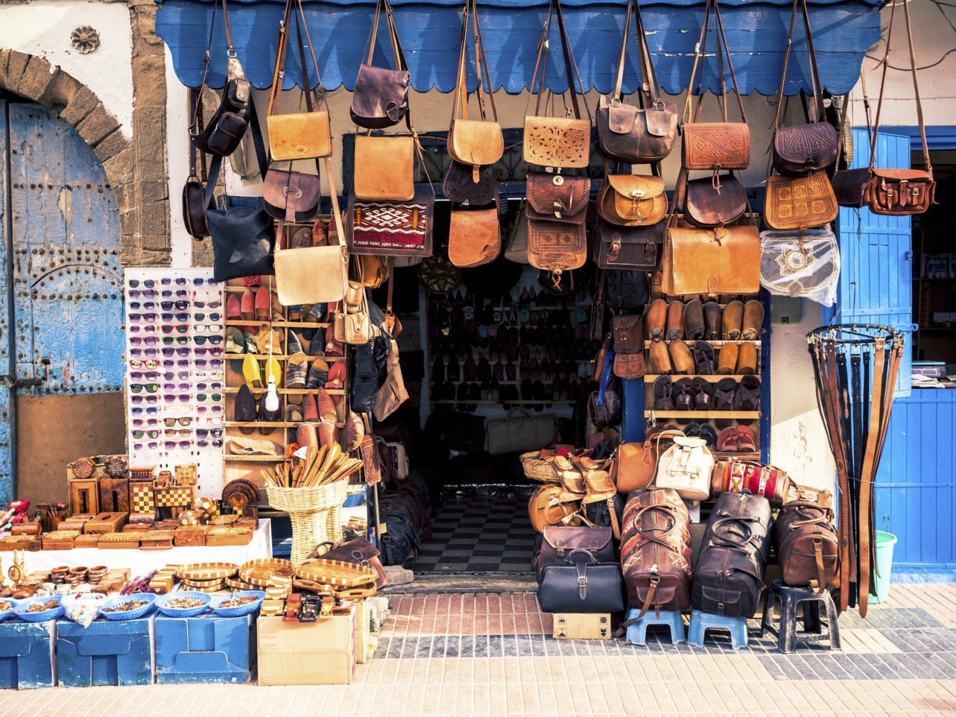 Arts + Culture Marrakech Morocco Style + Design City vendor market stall Shop sale