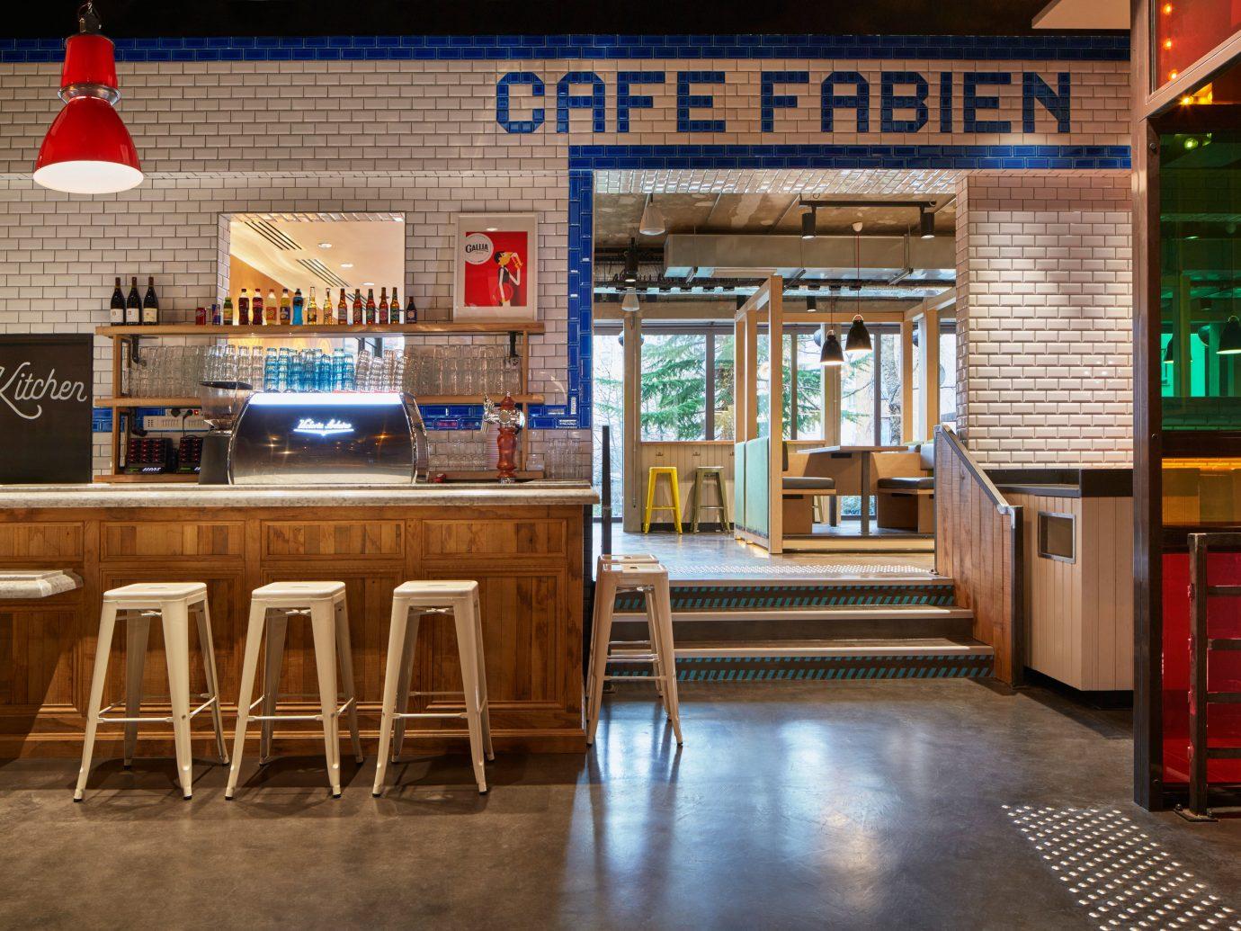 Budget City Dining Lobby Lounge floor indoor room restaurant wooden interior design Bar home window covering