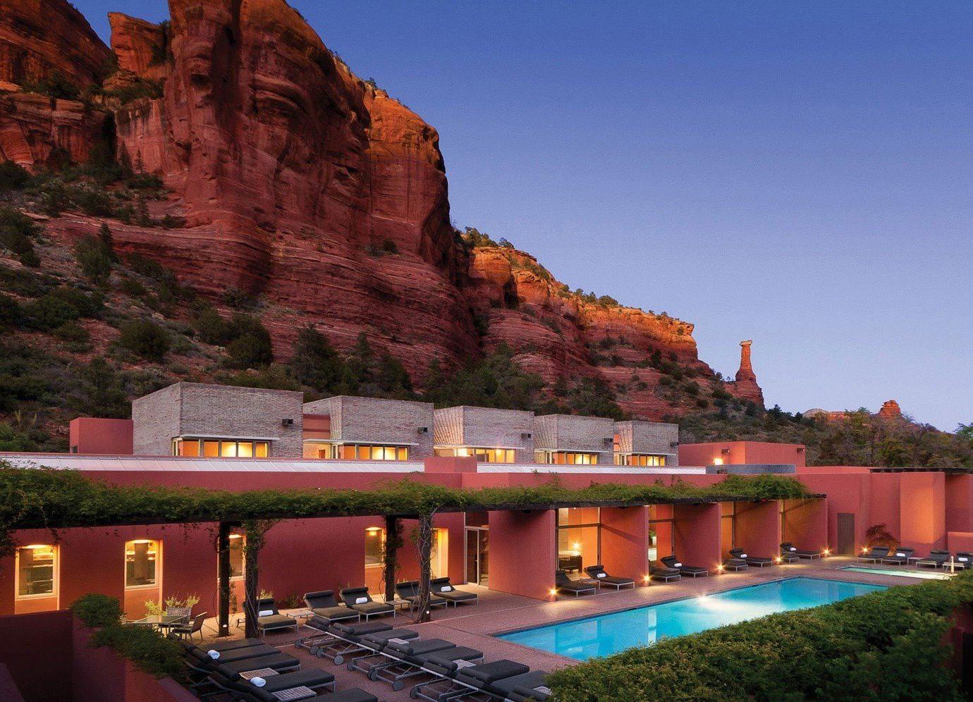 Trip Ideas outdoor landmark mountain Architecture tourism estate Resort traveling long passing