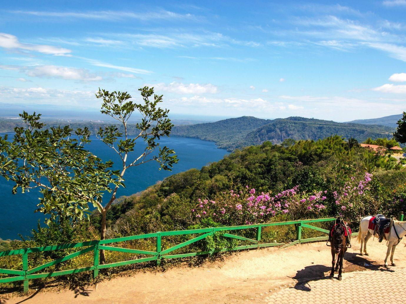 Secret Getaways Trip Ideas sky outdoor tree vacation mountain tourism landscape rural area Beach Sea flower
