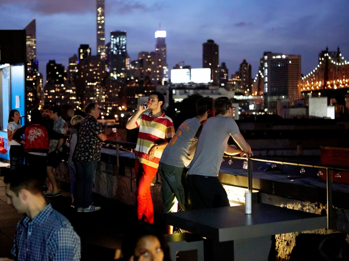 Hotels sky outdoor person crowd City night human settlement evening