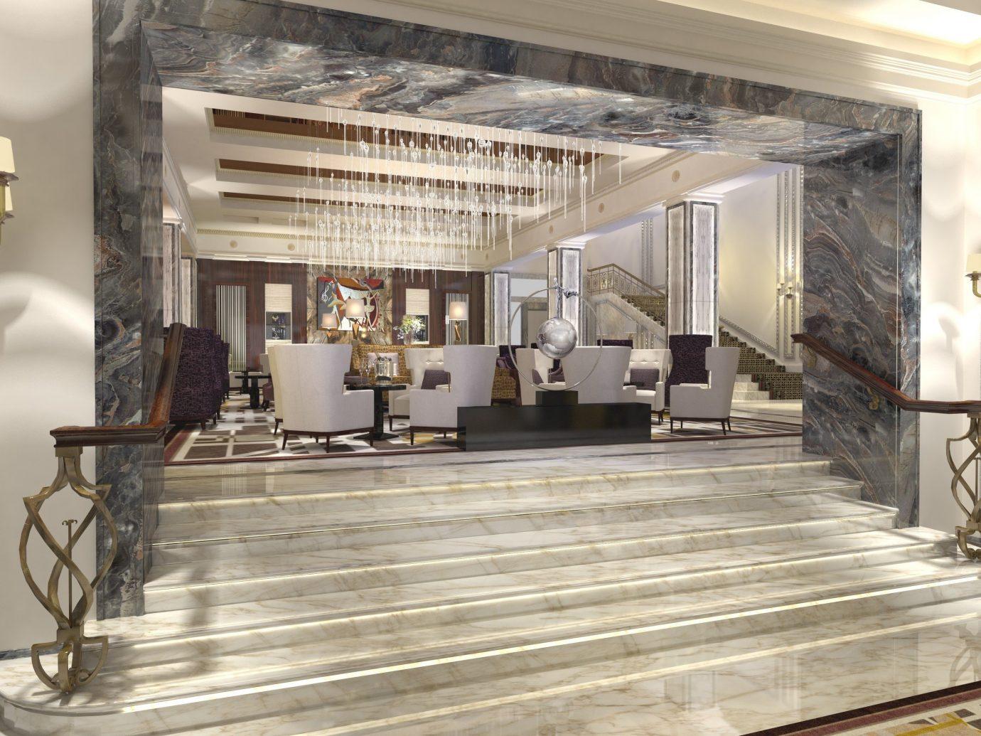 Architecture Fall Travel Hotels Luxury Travel News Trip Ideas indoor Lobby interior design room flooring floor ceiling estate furniture
