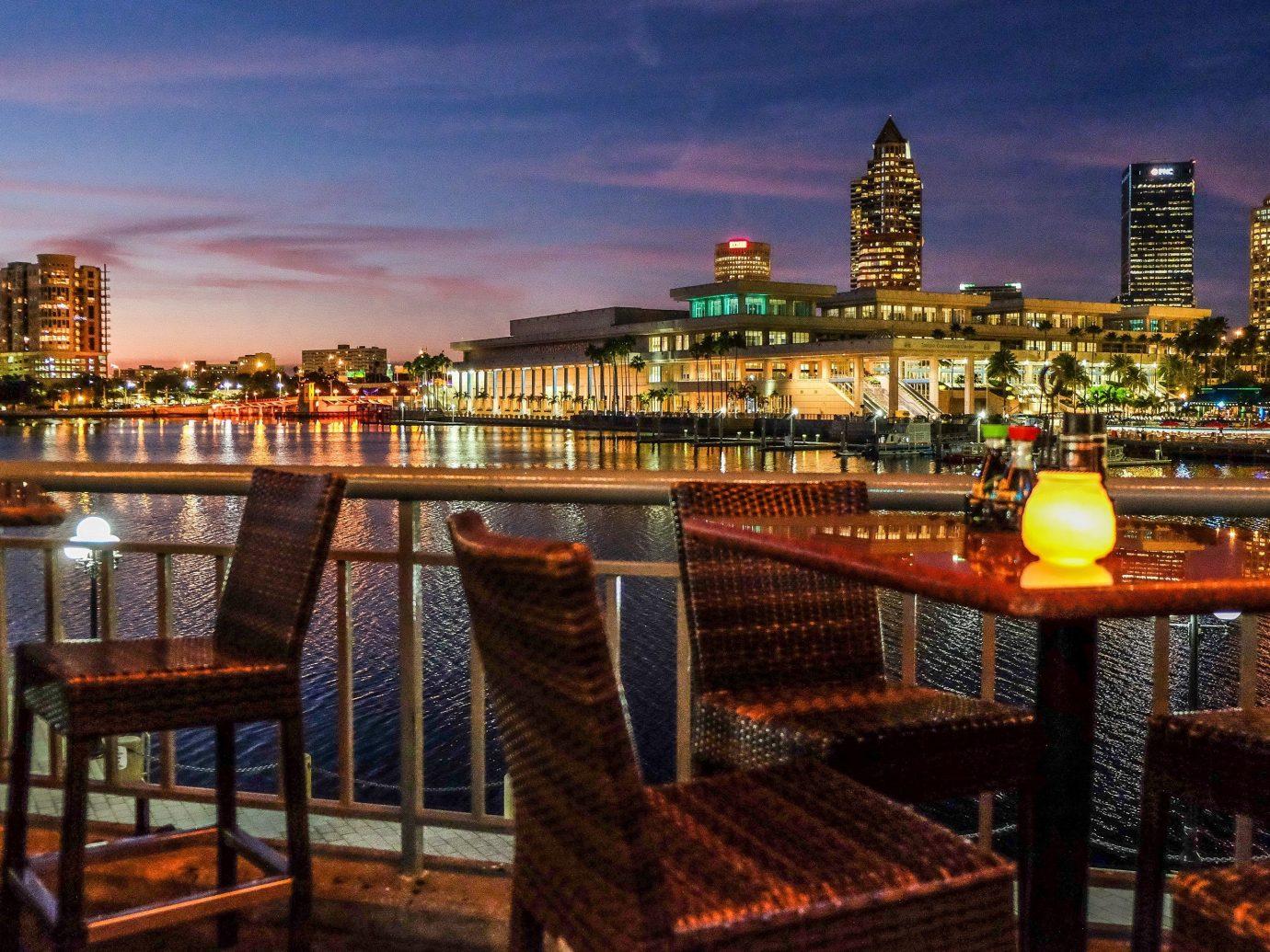 sky outdoor landmark City cityscape night human settlement evening tourism skyline palace plaza dusk