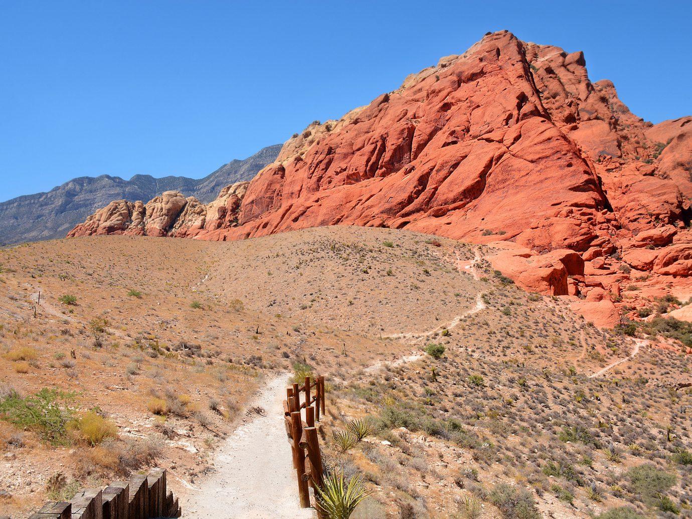 Red Rock Canyon outside Las Vegas