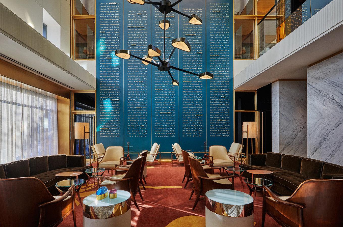 Road Trips Trip Ideas interior design restaurant Lobby apartment window