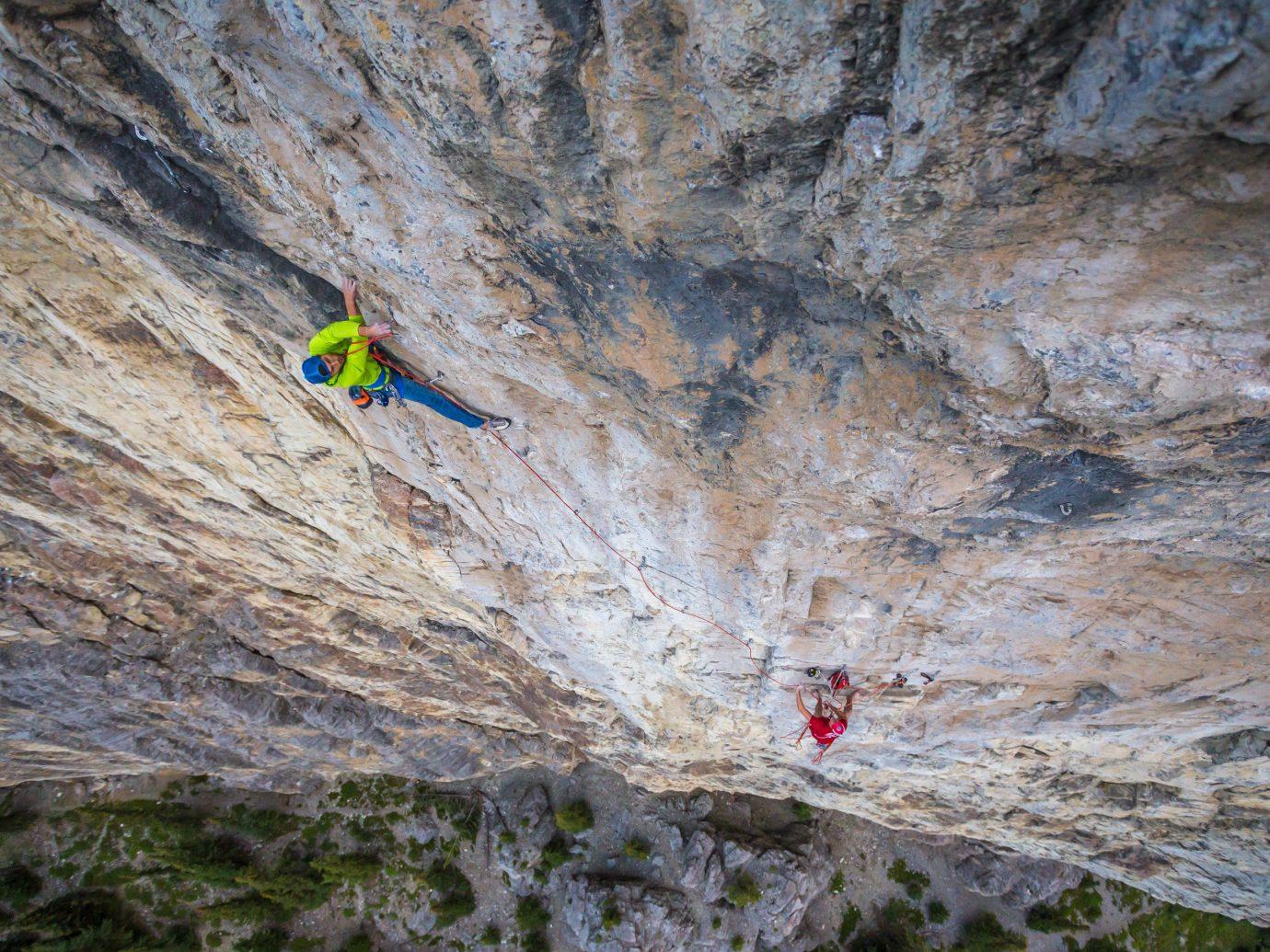 Trip Ideas outdoor climbing sport climbing Adventure sports colorful rock climbing geological phenomenon outdoor recreation recreation extreme sport cliff free solo climbing terrain colored