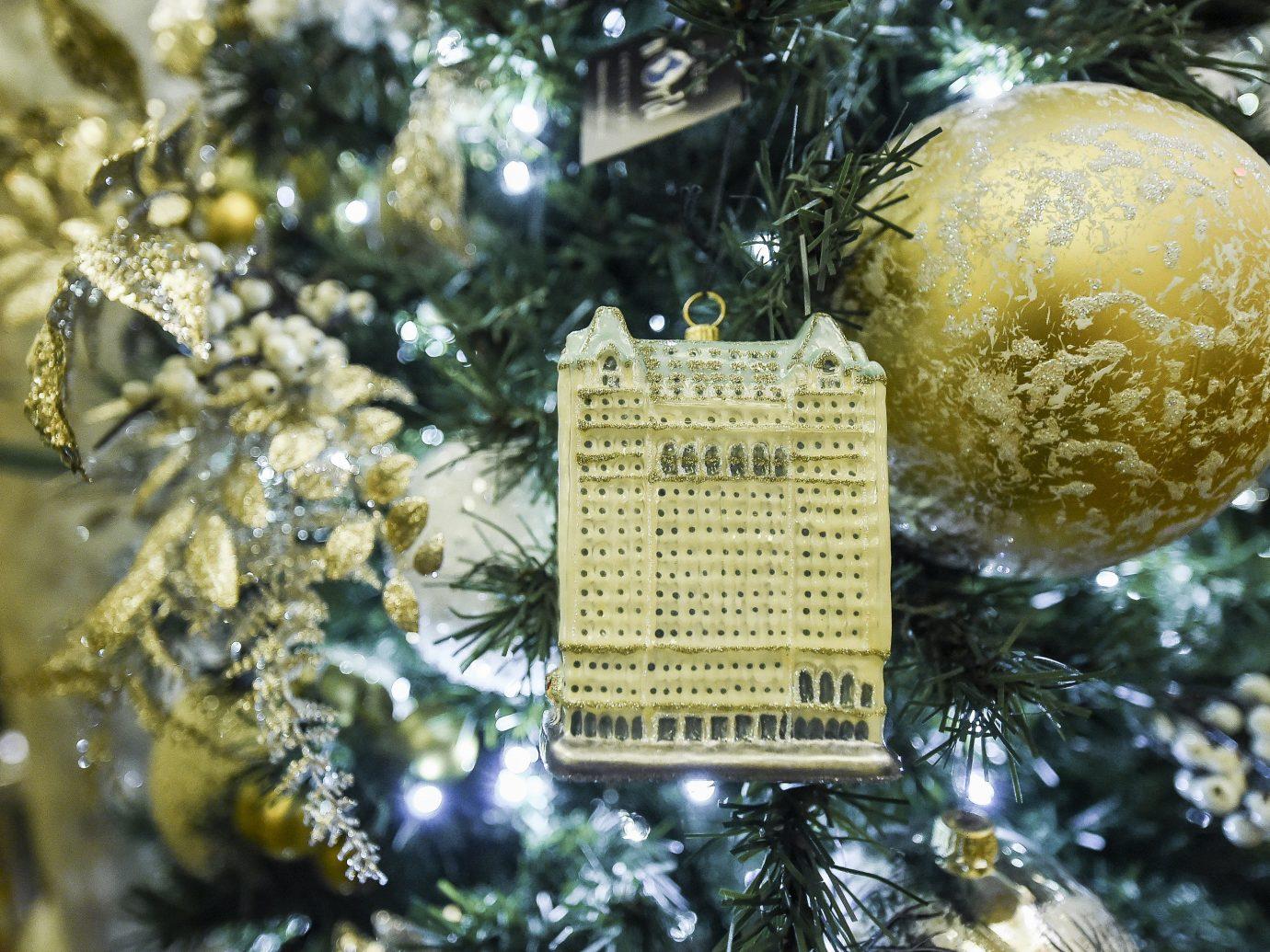 Hotels tree Christmas tree christmas decoration Christmas branch fir