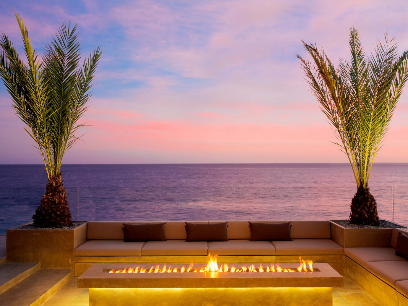 Romance Trip Ideas sky water outdoor tree vacation Ocean Sea arecales morning Sunset estate plant shore