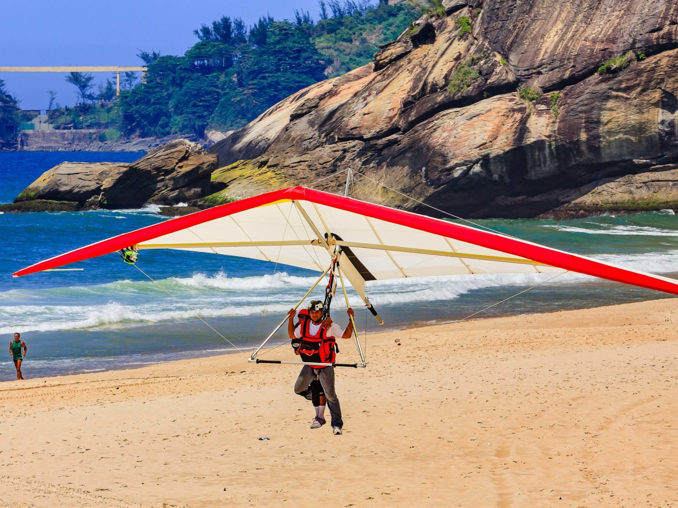 hang gliding Trip Ideas outdoor mountain sky gliding air sports sports glider windsports Beach Adventure Nature ultralight aviation atmosphere of earth recreation outdoor recreation aircraft flight extreme sport wing aviation shore sandy