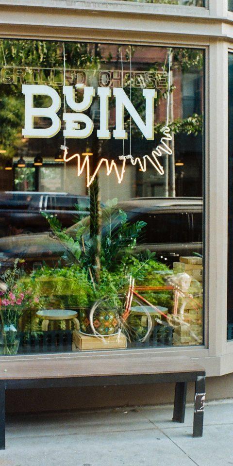 Brooklyn City Food + Drink NYC outdoor plant window tree floristry flower glass