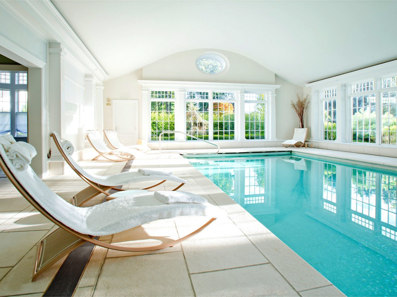 Country Pool Romance Scenic views Trip Ideas Weekend Getaways window indoor floor wall property room estate condominium swimming pool home house mansion interior design living room real estate Design daylighting counter apartment furniture