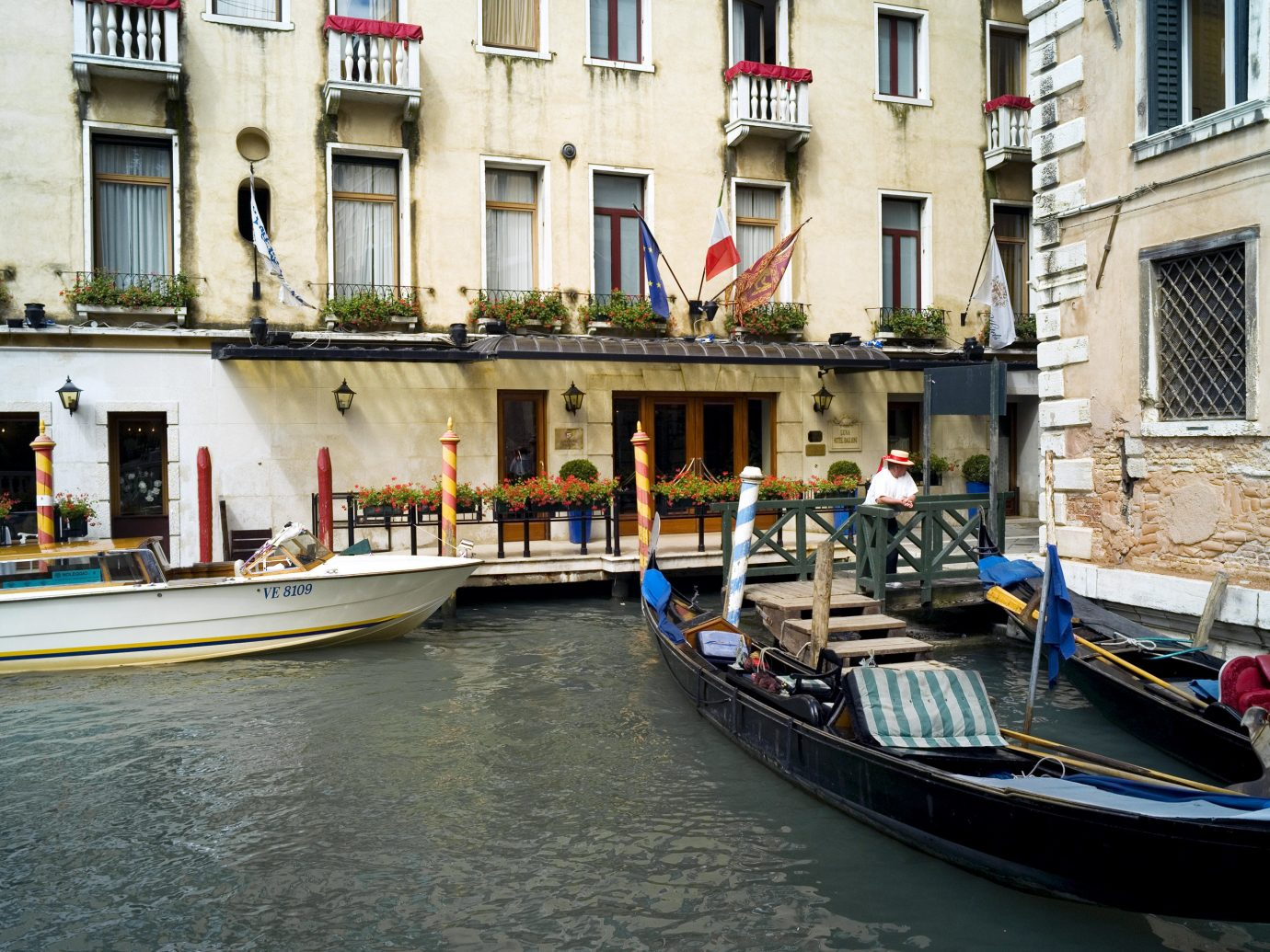 City Classic Elegant Exterior Historic Hotels Italy Luxury Travel Romance Romantic Venice Waterfront building Boat outdoor water vehicle Canal Town waterway gondola watercraft tourism travel