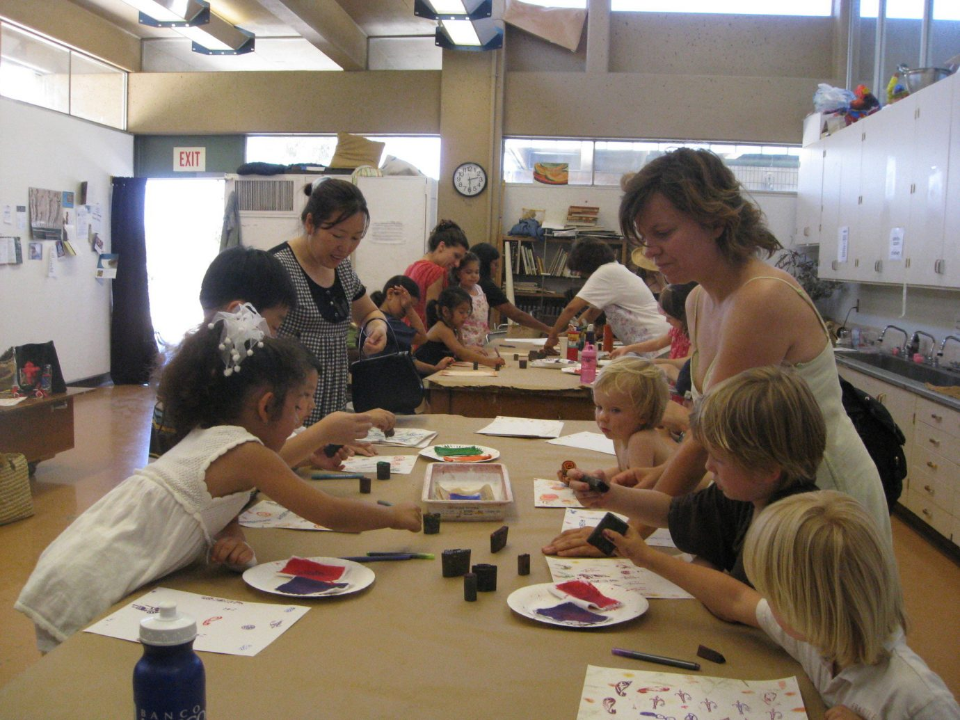 activities art Budget children class crafts painting people person indoor group workshop learning