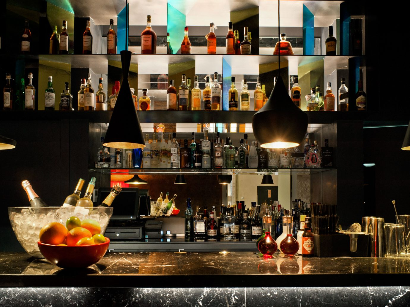 Bar Barcelona Boutique Boutique Hotels City Drink Hip Hotels Luxury Modern Nightlife Spain indoor counter restaurant distilled beverage several
