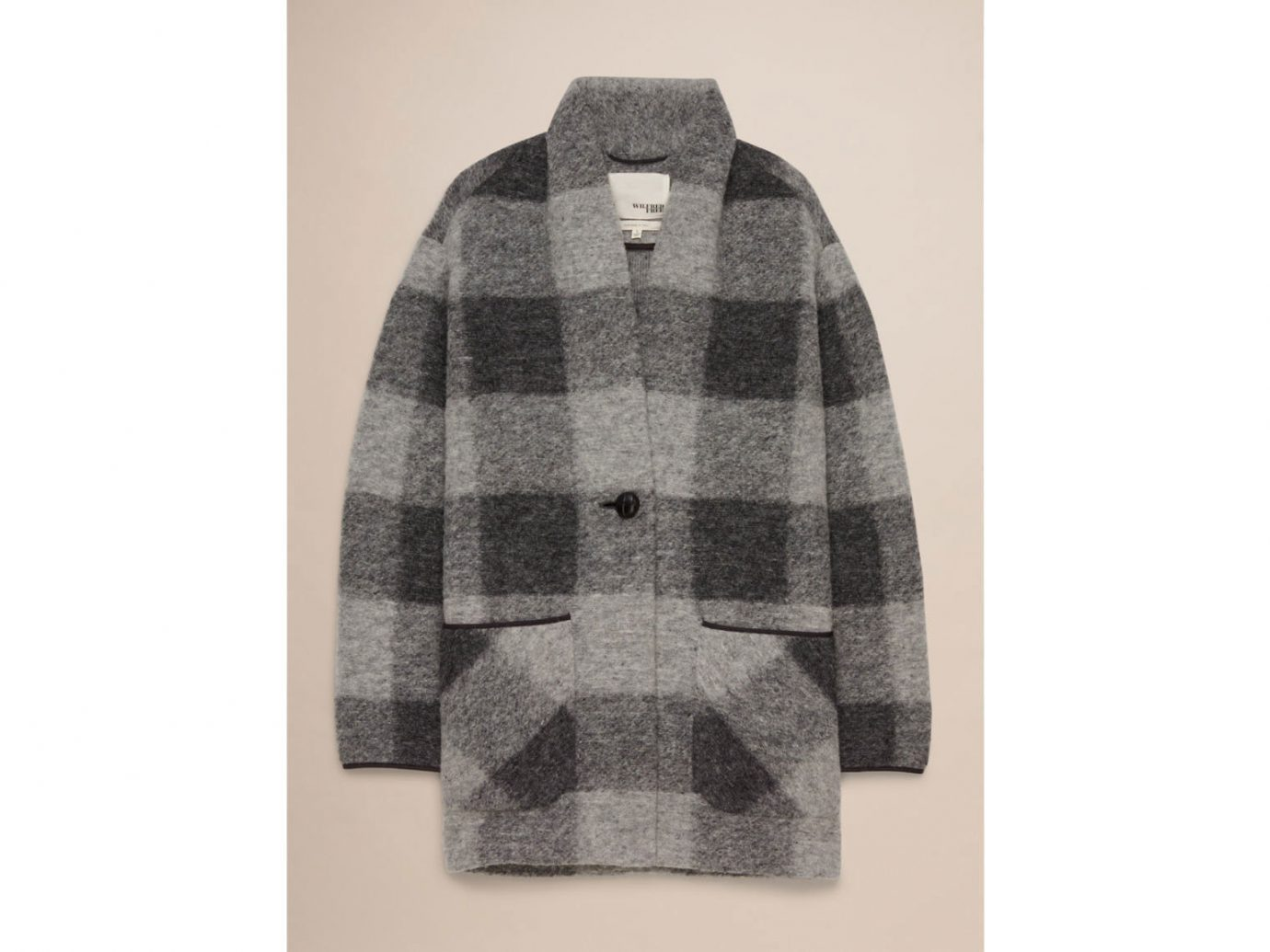 Style + Design clothing indoor outerwear wool sweater shirt pattern sleeve woolen cardigan Design textile jacket colored