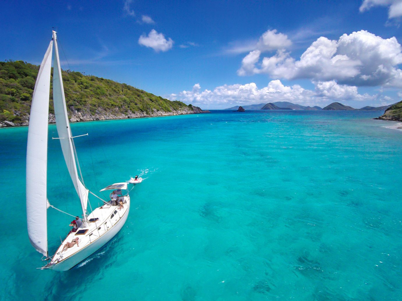 Trip Ideas water sky outdoor Boat caribbean Sea vehicle mountain watercraft vacation Ocean Lagoon bay Island cape sailing boating sailing vessel day