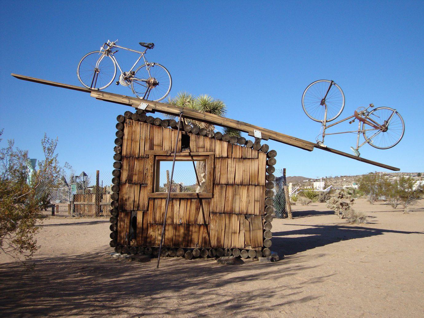 Art instillations in the Mojave Desert