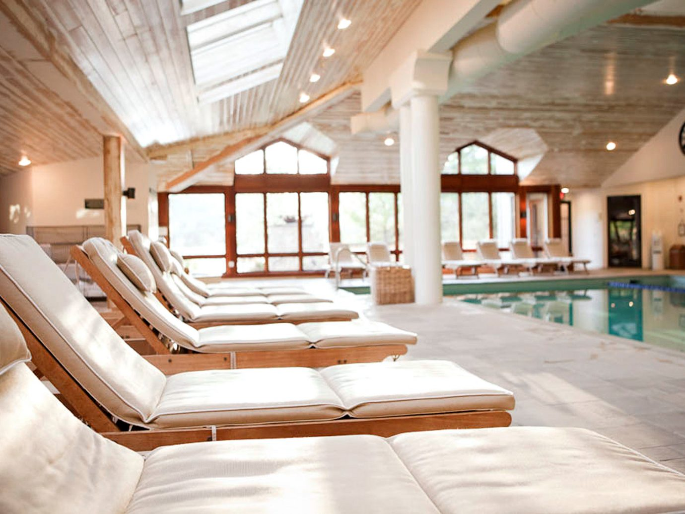 Country Lodge Pool Resort Spa Trip Ideas Wellness indoor ceiling room property estate floor interior design living room swimming pool home real estate Design furniture