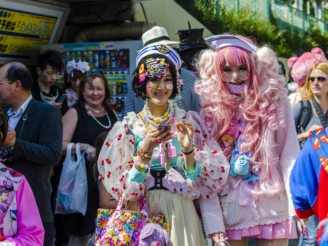 Travel Tips person clothing outdoor Sport dancer costume carnival group festival event people anime posing several