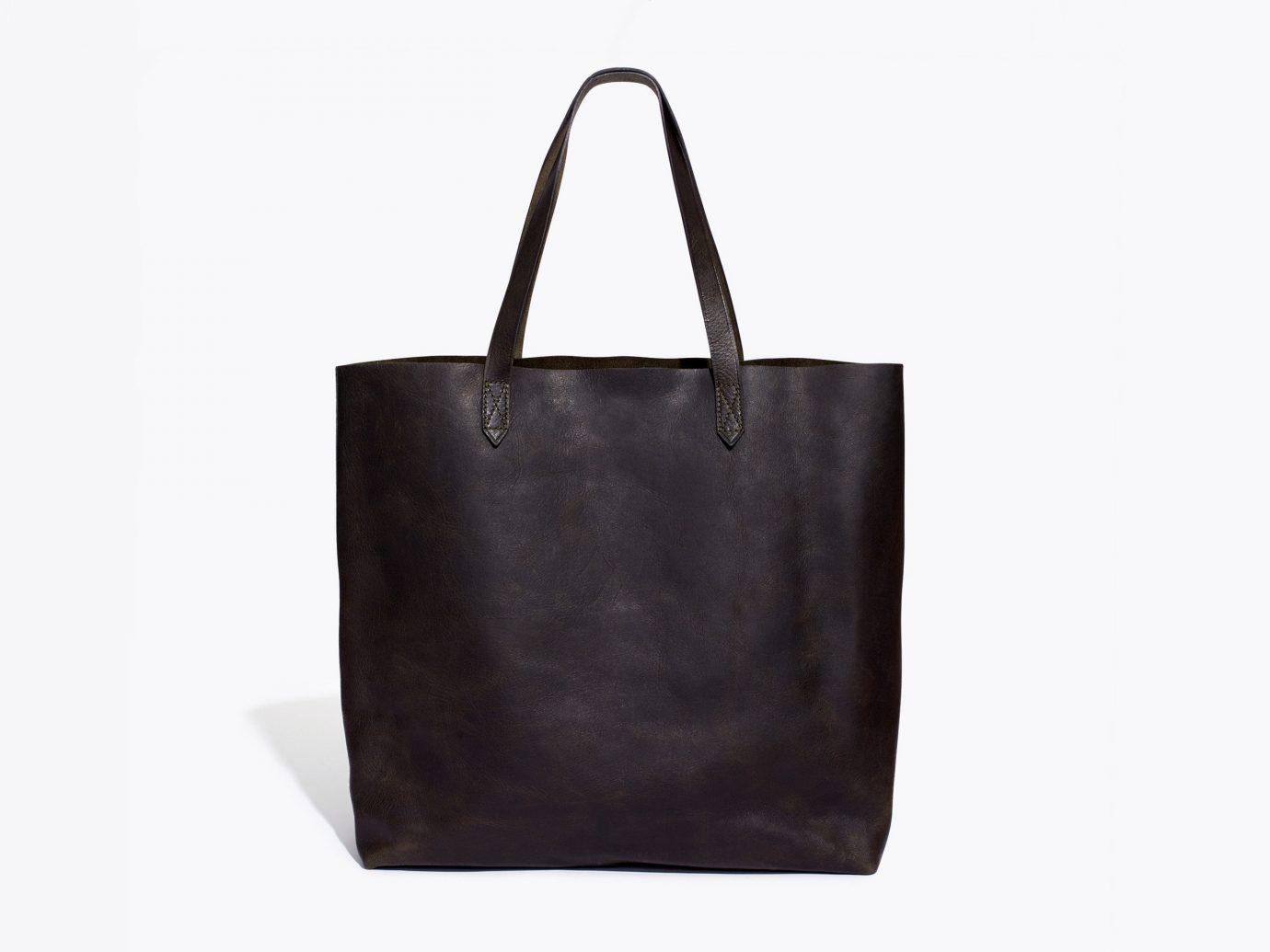 Style + Design handbag accessory bag indoor tote bag leather brown fashion accessory case shoulder bag brand textile