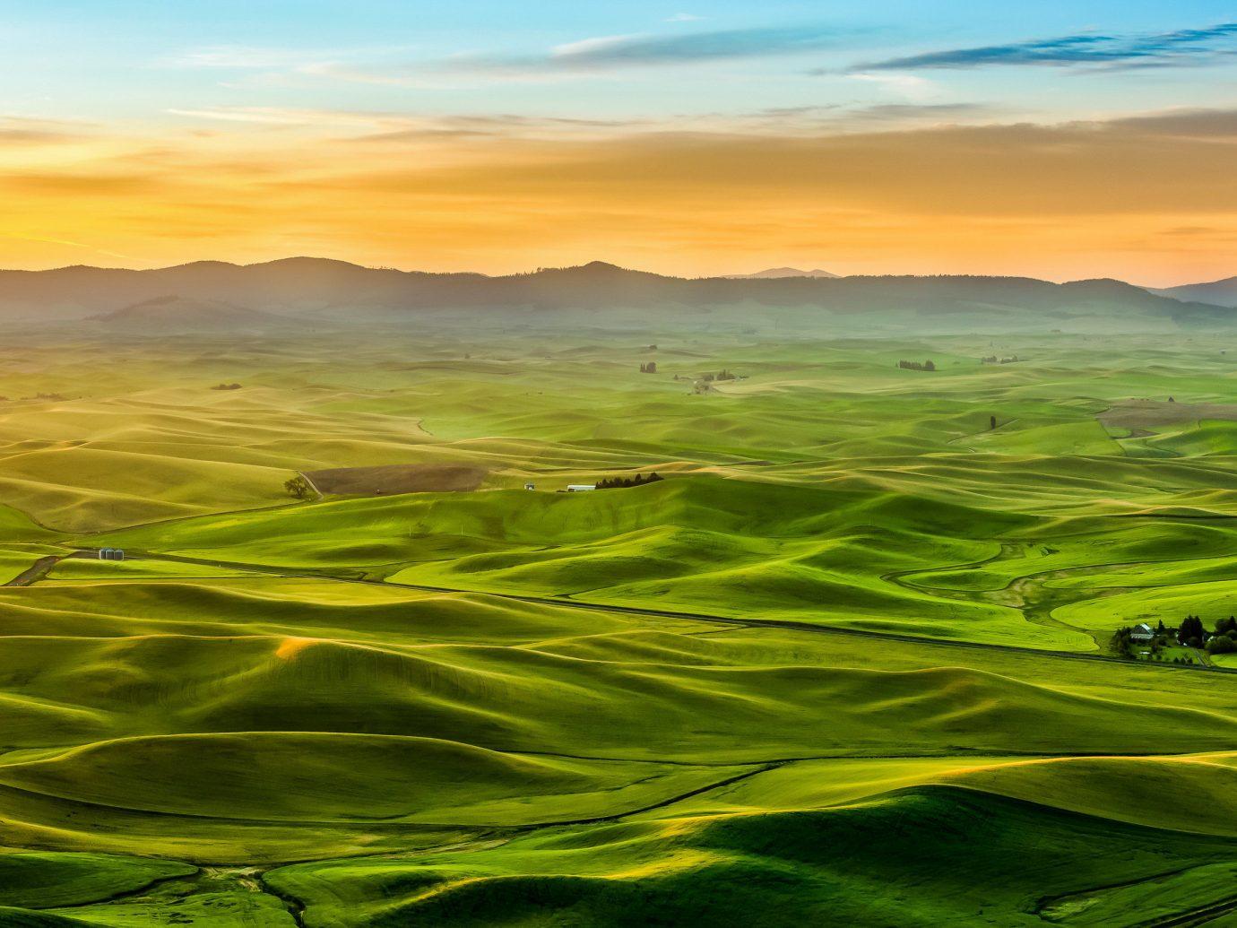 The Palouse, Washington and Idaho