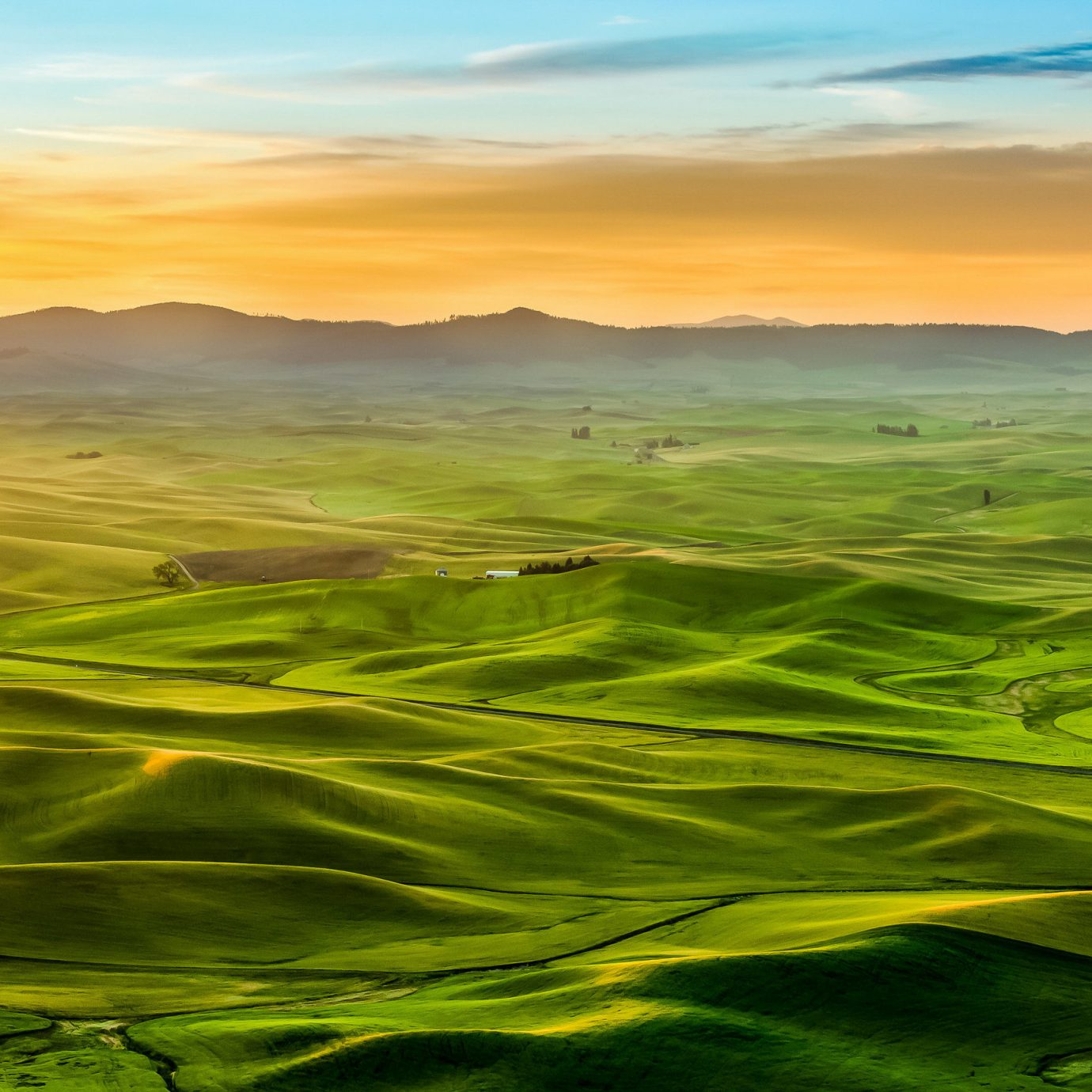 The Palouse, Washington and Idaho