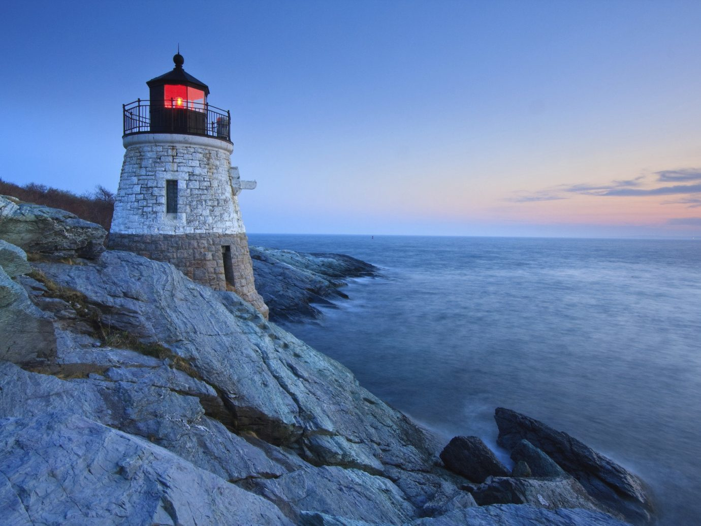 Travel Tips Trip Ideas sky outdoor water lighthouse tower rock Sea Coast Nature Ocean cliff cape terrain