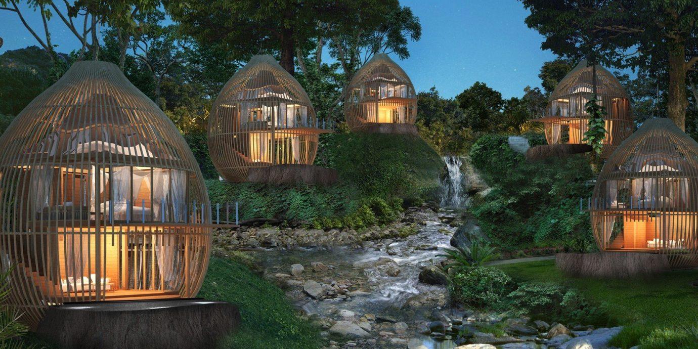 Hotels outdoor grass tree building house estate home mansion chapel cottage screenshot landscape lighting cage