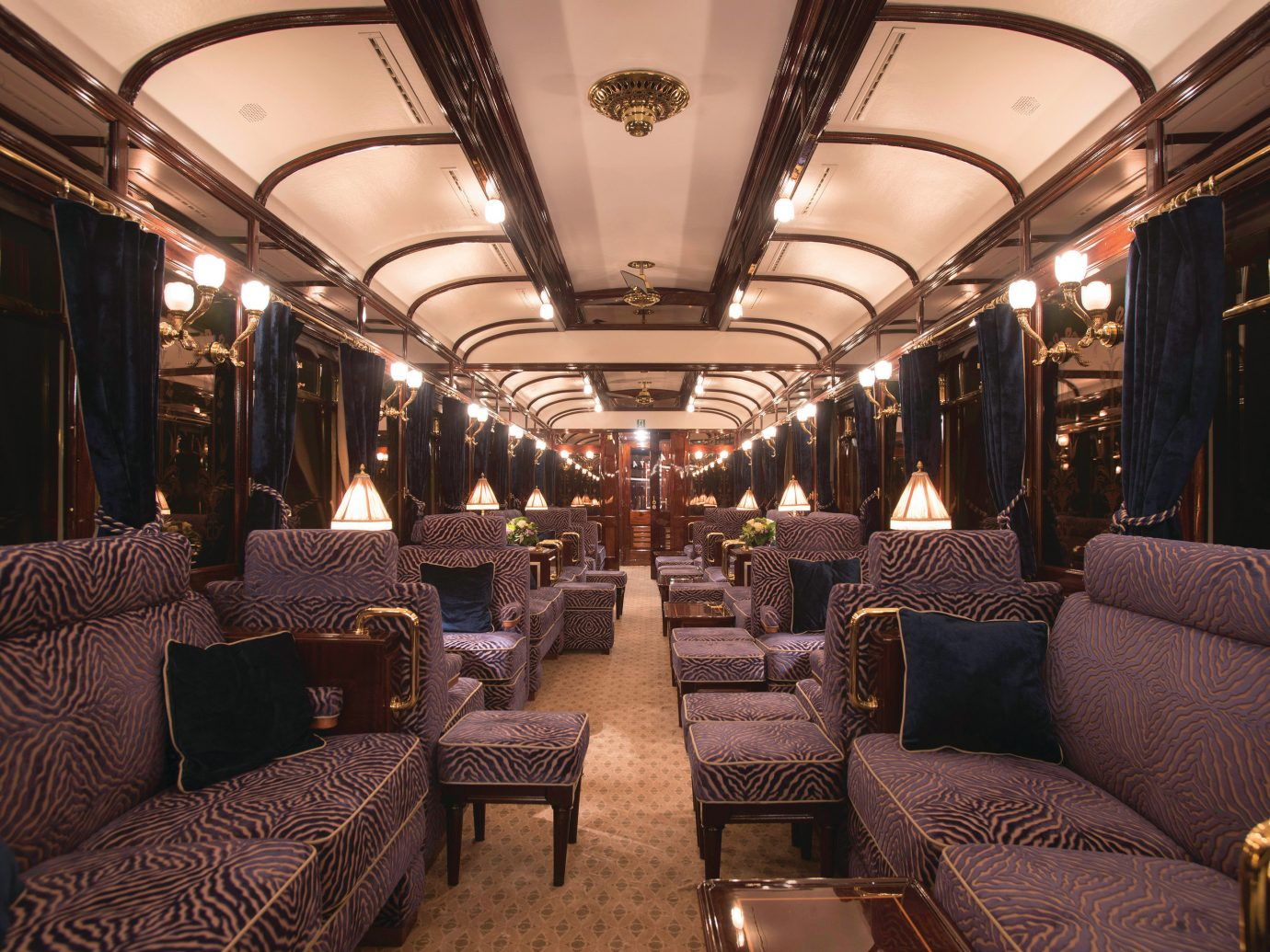 Luxury Travel Trip Ideas indoor transport vehicle chair Cabin passenger train public transport several